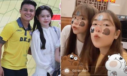 Không chỉ khéo lấy lòng mẹ chồng tương lai, Huỳnh Anh còn ngày càng thân thiết với chị dâu Quang Hải