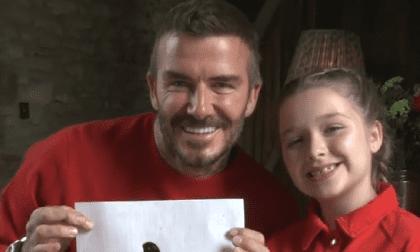 Bước sang tuổi thứ 9, tiểu thư nhà David Beckham 'trổ mã' ngày càng xinh đẹp