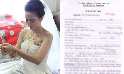 Ly hôn sau cưới 1 tuần vì chồng mang toàn bộ tiền cưới cho người yêu cũ vay