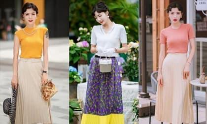 Nếu không muốn bị gọi là một bà cô già? Hãy học cách phối trang phục màu sắc này, không chỉ giảm tuổi mà còn rất thanh lịch