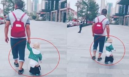 Nhờ chồng đưa con đi chơi, mẹ trẻ hẳn phải 'điên tiết' khi thấy hình ảnh này, còn dân mạng được dịp cười thả phanh