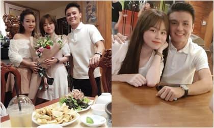 Quang Hải - Huỳnh Anh 'dính nhau như sam' mừng sinh nhật mẹ nuôi