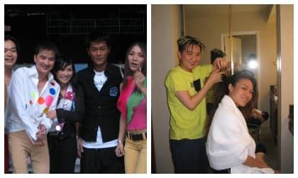Dương Triệu Vũ khoe ảnh dàn sao hội ngộ Cổ Thiên Lạc, chiếm spotlight lại là cảnh Mr Đàm chải tóc cho Mỹ Tâm