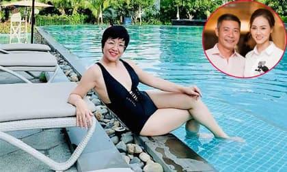 MC Thảo Vân hiếm hoi đăng ảnh diện áo tắm, bạn gái Công Lý có hành động bất ngờ