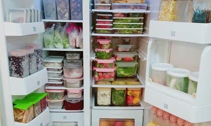 Mẹ đảm gợi ý cách bảo quản thực phẩm đủ cho cả gia đình sử dụng trong 1 tuần, dân mạng tấm tắc khen khéo