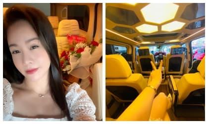 Giữa ồn ào bị tố có quan hệ tình cảm với Titi, Nhật Kim Anh bình thản tậu xe hơi tiền tỷ