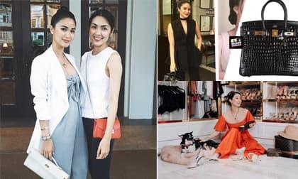 Lóa mắt trước kho hàng hiệu của 'bà hoàng giới showbiz Philippines' - bạn thân của Tăng Thanh Hà