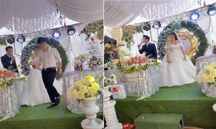 Sự cố hy hữu trong đám cưới: Chú rể bỏ đi mặc cô dâu đứng 1 mình không hiểu chuyện gì xảy ra