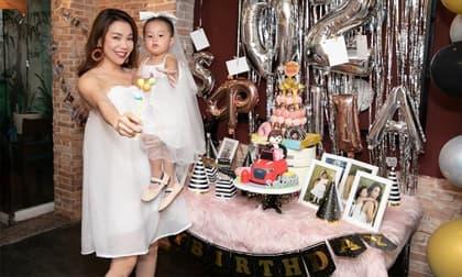 Phòng dịch Covid-19, Trà Ngọc Hằng hủy kế hoạch làm tiệc sinh nhật hoành tráng cho con gái