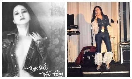 'Nữ hoàng rock' Ngọc Ánh khoe ảnh cũ: Từ thần thái tới gu thời trang cực chất chơi