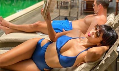 Siêu mẫu Hà Anh tung ảnh phô dáng đẹp với bikini trong kỳ nghỉ, 'gái một con' mà vòng một vẫn căng đầy