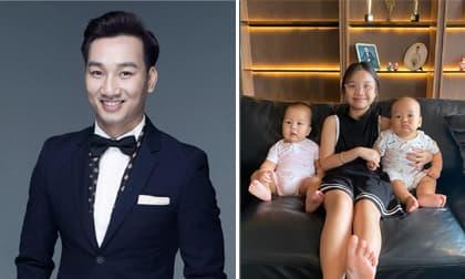 Sau động thái của vợ cũ, MC Thành Trung mong con riêng, con chung luôn gắn kết