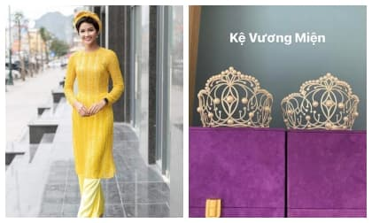 H'Hen Niê lần đầu khoe phòng để đồ tại nhà riêng: Đơn giản đến bất ngờ, giá trị nhất lại là cặp vương miện!