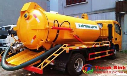 Thanh Bình cung cấp dịch vụ hút bể phốt tại Cầu Giấy chuyên nghiệp tận tâm