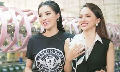 Kỳ Duyên làm rõ tin đồn 'cạch mặt' Hoa hậu Hương Giang chỉ bằng một bình luận