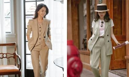 Làm thế nào để trở thành người đi tiên phong mặc đẹp đầu mùa thu? Đương nhiên đó là suit và ghi lê