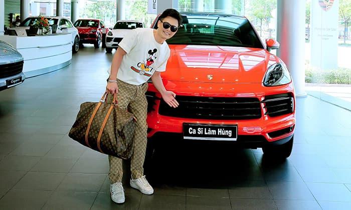'Ông hoàng nhạc miền Tây' Lâm Hùng tậu xe sang 7 tỷ đồng