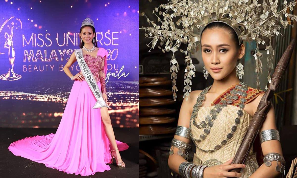 Tân Hoa hậu Hoàn vũ Malaysia 2020 bị chê kém sắc, không cuốn hút