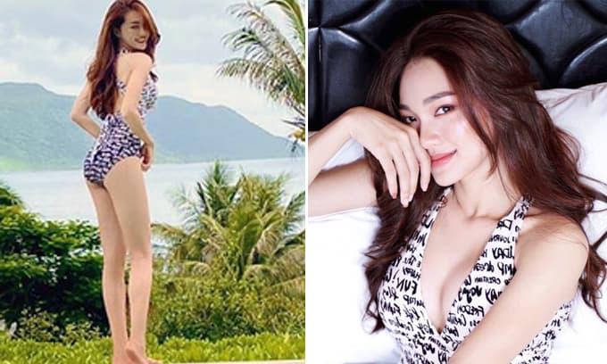 Ngọc Nữ - tình cũ tiền vệ Phan Văn Đức ngày càng gợi cảm 'hết nấc'