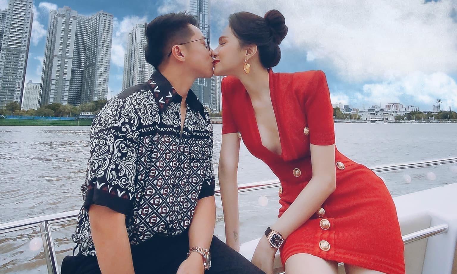 Hương Giang chiêu đãi hội bạn thân trên du thuyền, nhưng khoảnh khắc khoá môi Matt Liu mới là tâm điểm