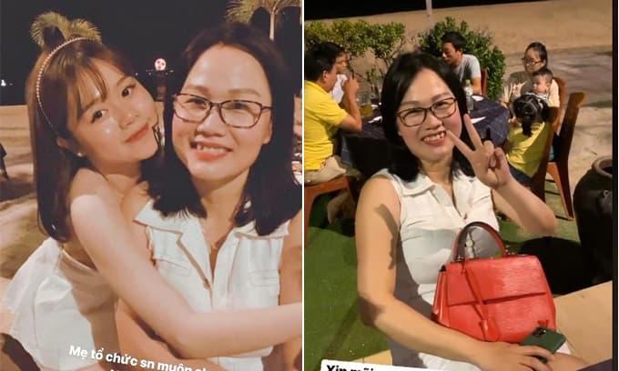 Bạn gái Quang Hải lần đầu hé lộ mẹ ruột sở hữu nhan sắc trẻ trung