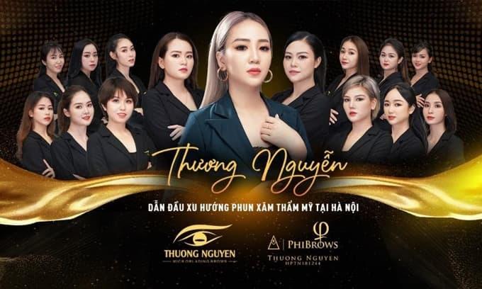 Thương Nguyễn - Địa chỉ phun xăm thẩm mỹ uy tín tại quận Đống Đa - Hà Nội