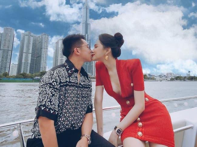 Hương Giang và bạn trai hẹn hò 2