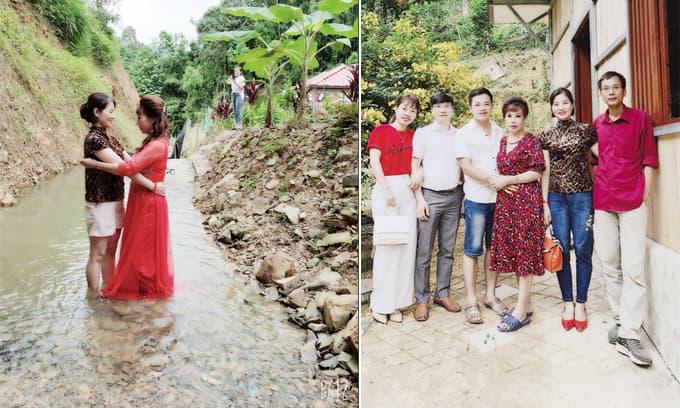 'Cô dâu 62 tuổi' Thu Sao đưa bạn bè, người thân về ăn kỷ niệm ngày cưới tập 2 ở lâu đài tình ái mới dựng