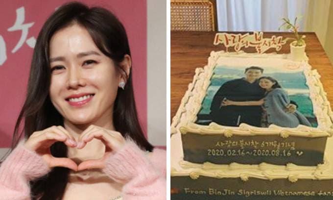 Son Ye Jin khiến dân tình rần rần khi vừa ngoi lên mạng đã chia sẻ hình ảnh ôm ấp Hyun Bin ngọt ngào