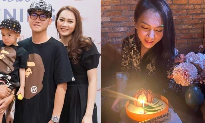 Ngọc Thạch đón sinh nhật bên bạn bè, riêng chồng thiếu gia vẫn 'im bặt' làm rộ nghi án rạn nứt