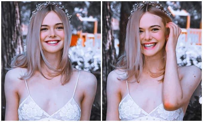 Elle Fanning đẹp như 'Tiên nữ giáng trần', khiến netizen 'trụy tim' với khoảnh khắc cười xinh