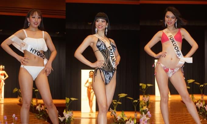 Hàng loạt thí sinh Hoa hậu Quốc tế Nhật Bản gây sốc vì nhan sắc quá xấu