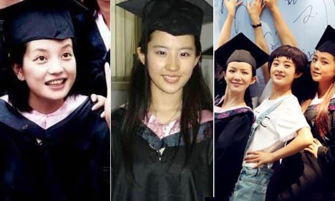 Bất ngờ với ảnh tốt nghiệp của sao Hoa ngữ: Triệu Vy, Lưu Diệc Phi đẹp xuất sắc, Triệu Lệ Dĩnh hoàn toàn khác