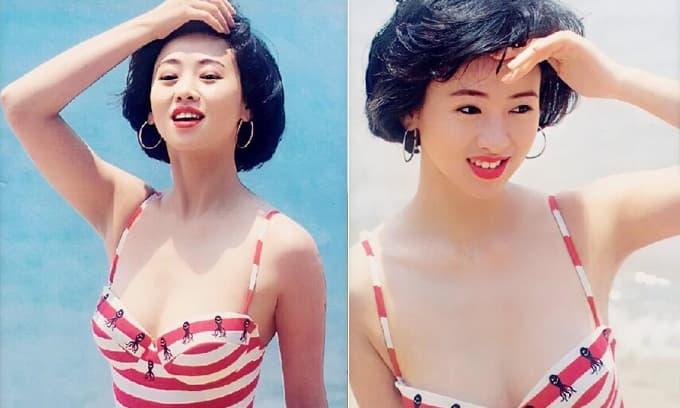 Những bức ảnh áo tắm của 'Hoa hậu chuyên đóng phim 18+' bị lộ, thân hình nóng bỏng và gương mặt căng mọng