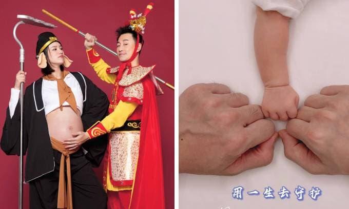 Tài tử TVB Lâm Phong lên chức cha ở tuổi 40, ngay lập tức lên top 1 hot search Weibo