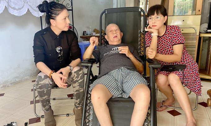 NS Phương Dung, Thụy Mười đến thăm và tiết lộ sức khỏe của NS Mặc Can