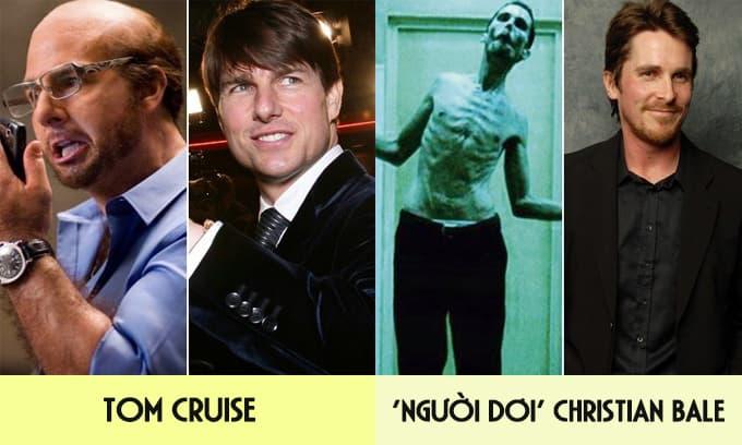 Từ Brad Pitt, Johnny Depp đến Jennifer Lawrence: Những màn 'biến hình' gây sốc nhất của các sao Hollywood