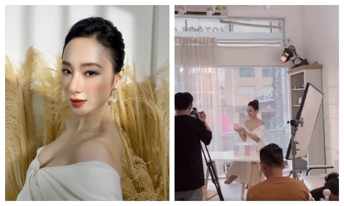 Lâu lắm mới thấy Angela Phương Trinh khoe ảnh lộ ngực căng đầy, phải chăng sắp tái xuất?
