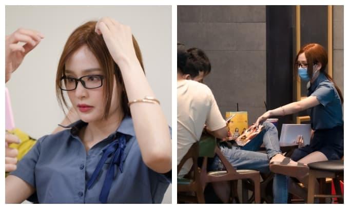 Hiền Hồ cải trang đến rạp phim 'lấy trộm' tiền của fan và nhận phản ứng cực gắt