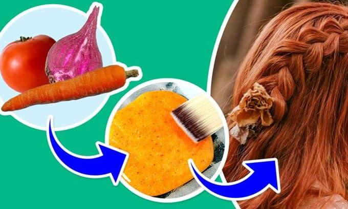 Sử dụng thuốc nhuộm hóa chất có thể gây độc hại, và đây là cách để nhuộm tóc tự nhiên