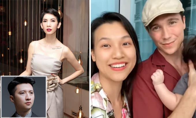 Sao Việt 29/9: Xuân Lan tiết lộ là bạn của người thứ ba trong câu chuyện Trọng Hưng; Hoàng Oanh kể về cuộc sống mới tại Singapore