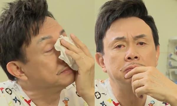 Chí Tài bật khóc vì xa vợ nửa năm do dịch Covid-19