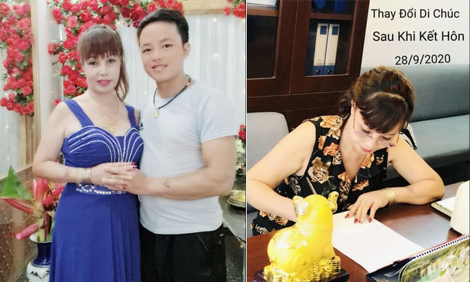 'Cô dâu 62 tuổi' Thu Sao từng lập di chúc trước khi kết hôn, nhưng đến giờ lại thay đổi, phải chăng liên quan đến chồng trẻ Hoa Cương?