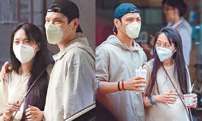 Giữa tin đồn rạn nứt, 'tình cũ Phùng Thiệu Phong' lộ bụng bầu to lùm lùm, xuất hiện bên cạnh ông xã nhà trùm mafia Hong Kong