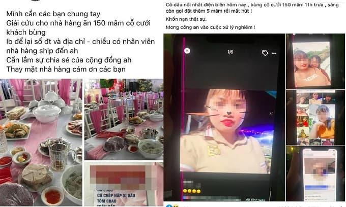 Vụ nhà hàng bị 'bom' 150 mâm cỗ cưới ở Điện Biên: Một cô gái trở thành nạn nhân vì trùng tên với cô dâu