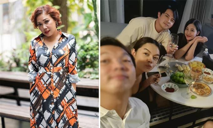 Sao Việt 1/10: Siu Black tiết lộ tình cảm hiện tại với chồng; Bà bầu Đông Nhi cùng chồng tụ tập tại nhà Phạm Quỳnh Anh