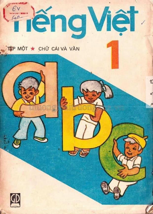 Cả bầu trời tuổi thơ thế hệ 8x, 9x ùa về khi thấy những trang SGK Tiếng Việt 30 năm trước 1