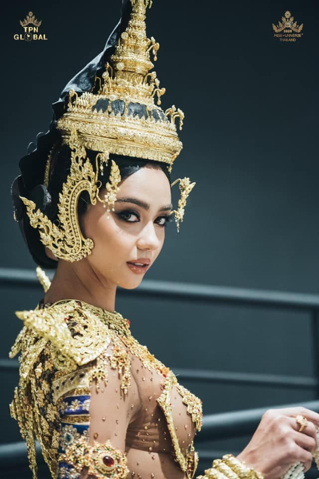 Hoa hậu Hoàn vũ Thái Lan 2020 0
