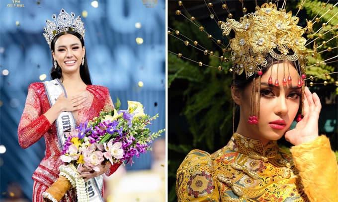 Nhan sắc đầy cuốn hút của Tân Hoa hậu Hoàn vũ Thái Lan 2020