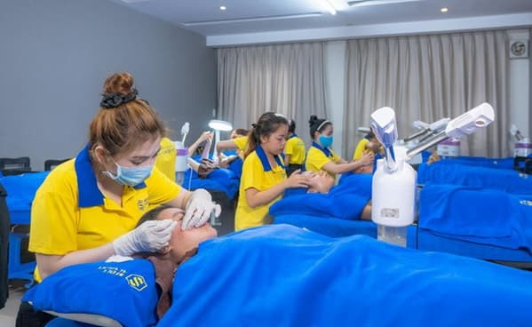 Seoul Academy, trường dạy nghề spa, phun xăm thẩm mỹ, Đào tạo Thẩm mỹ chuyên nghiệp